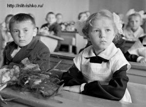 """Рассказ о войне """"Старшина Смирнов"""". Девочка в школе"""