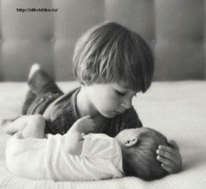"""Хорошие стихи для детей - """"У меня родился брат"""""""